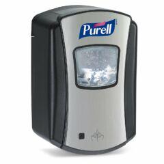 PURELL automata kézfertőtlenítő adagoló, LTX, fekete / ezüst, 700 ml