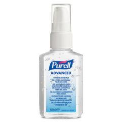 PURELL Advanced kézfertőtlenítő gél, spray, 60 ml