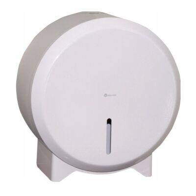 Ipari WC-papír tartó Epoxy fehér  - mini - 19cm