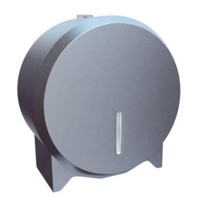 Ipari WC-papír tartó szálcsiszolt - mini - 19cm