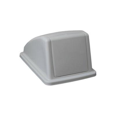 Fedél K60 szelektív hulladékgyűjtőhöz, szürke, egyéb/vegyes hulladékhoz