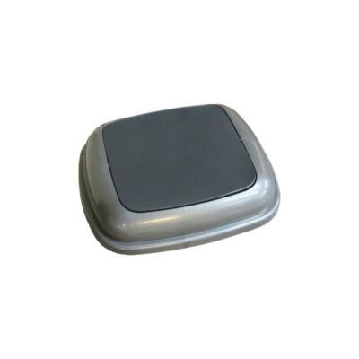 Fedél K45 szelektív hulladékgyűjtőhöz - fekete
