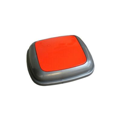 Fedél K45 szelektív hulladékgyűjtőhöz - piros