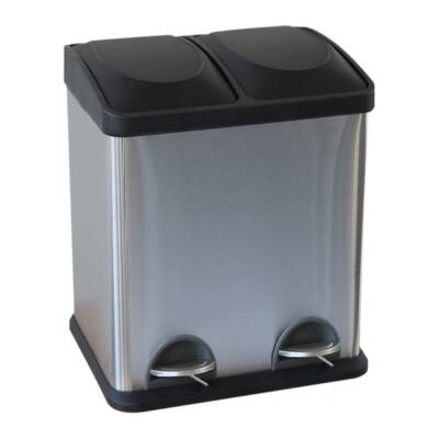 Szelektív hulladékgyűjtő, 2x15 l