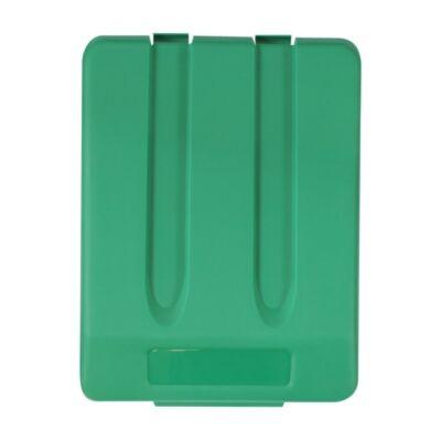 Fedél K33 szelektív hulladékgyűjtőhöz - zöld