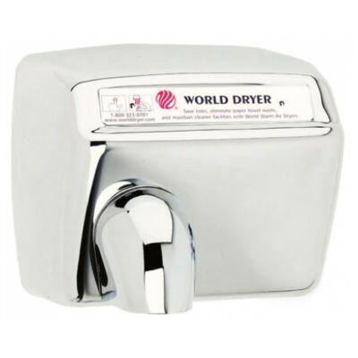 DXA548-972 World Dryer Model A automata kézszárító, r.m. acél, fényes,