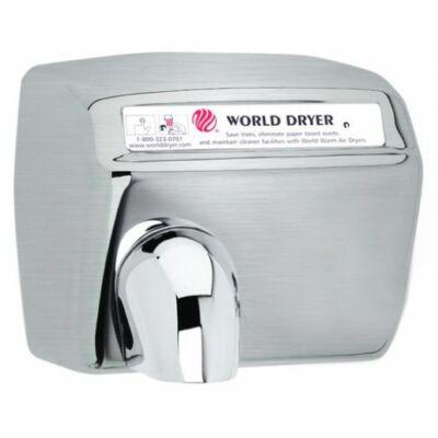 DXA57-972 World Dryer Model A automata kézszárító, r.m. acél, selyem