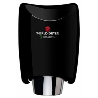 K48-162 WORLD DRYER SMARTdri okos kézszárító, alumínium, fekete, 400-1200 W, 10 mp, 85 dB