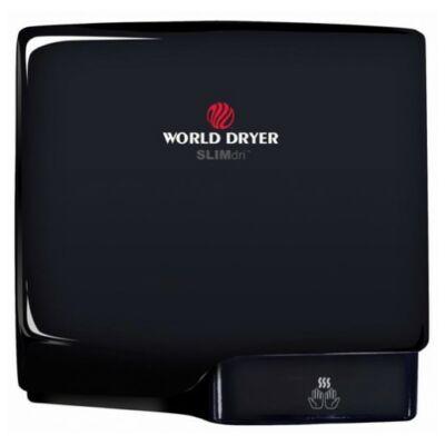 Q-162A WORLD DRYER VERDEdri villámgyors kézszárító, alumínium, fekete, 950 W, 12 mp, 85 dB