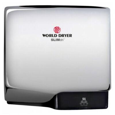 L-970 WORLD DRYER SLIMdri automata kézszárító, alumínium, fényes, 950 W, 10-12 mp, 83 dB