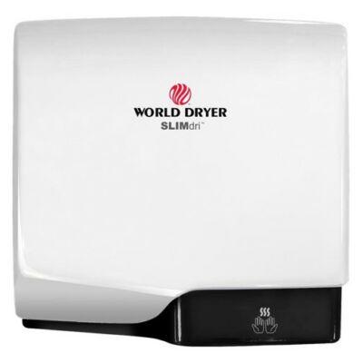 L-974 WORLD DRYER SLIMdri automata kézszárító, alumínium, fehér, 950 W, 10-12 mp, 83 dB