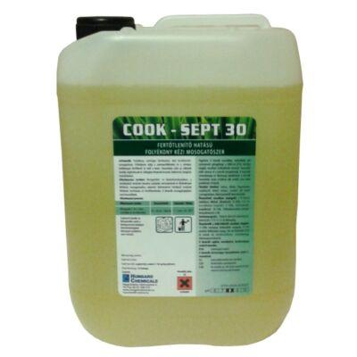 COOK SEPT - Kombinált kézi mosogató- és fertõtlenítõszer, 10 kg