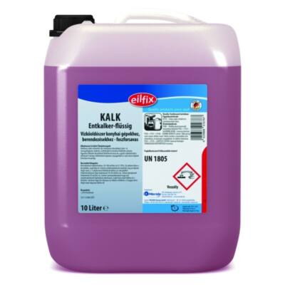 KALK Vízkőoldószer konyhai gépekhez, berendezésekhez - foszforsavbázisú 12 kg
