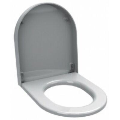 WC-ülőke fedővel vandálbiztos WC-hez, duroplast, fehér