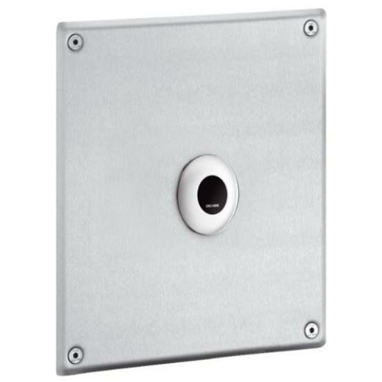 DELABIE TEMPOMATIC infra vezérlésű WC öblítőszelep hálózati vízre, vandálbiztos előlappal, hálózati 230V