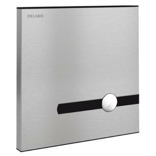 DELABIE TEMPOMATIC dual control infra vezérlésű WC öblítőszelep KIT vízálló szerelődobozzal, 230V