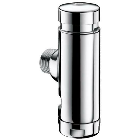 """DELABIE TEMPOFLUX 1 falon kívüli időzített nyomógombos direkt öblítésű WC öblítőszelep, 3/4""""-os vízbekötéssel, víztakarékos"""