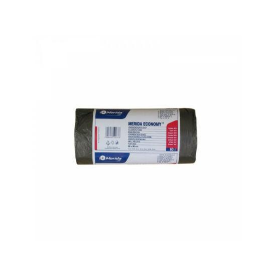 Hulladékgyűjtő zsák, 60X90 CM, 70L, fekete, 50 DB