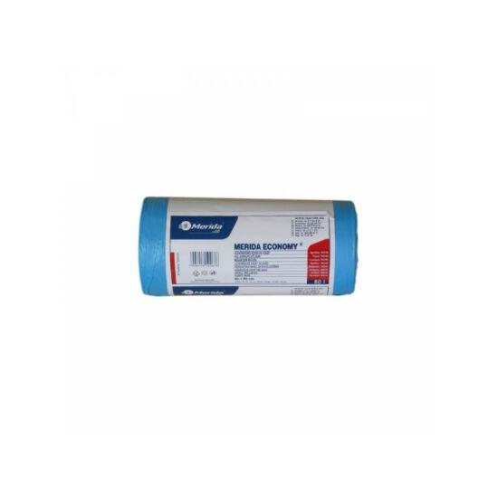 Hulladékgyűjtő zsák, 60X90 CM, 70L, kék, 50 DB