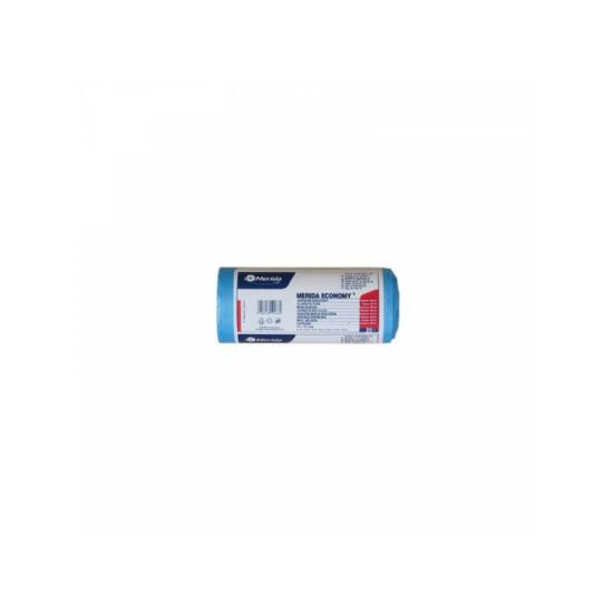 Hulladékgyűjtő zsák, 44X50 CM, 20L, kék, 50 DB