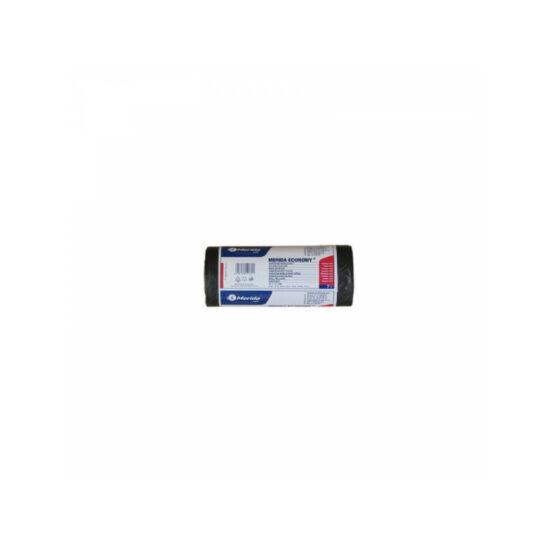 Hulladékgyűjtő zsák, 30X40 CM,7L, fekete, 50DB
