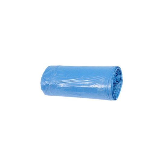 Hulladékgyűjtő zsák, 60X80 CM, 60L, kék, 50 DB