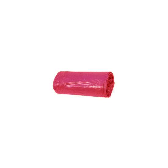Hulladékgyűjtő zsák, 50X60 CM, 35L, piros, 50 DB