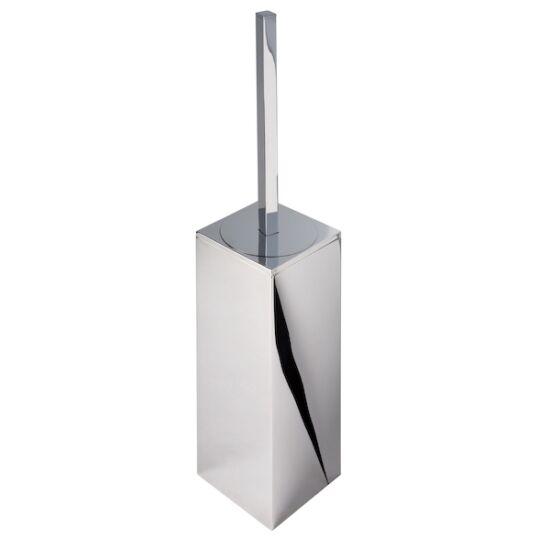 DELABIE fali WC-kefe fedő nélküli alacsony házzal, r-m acél, fehér