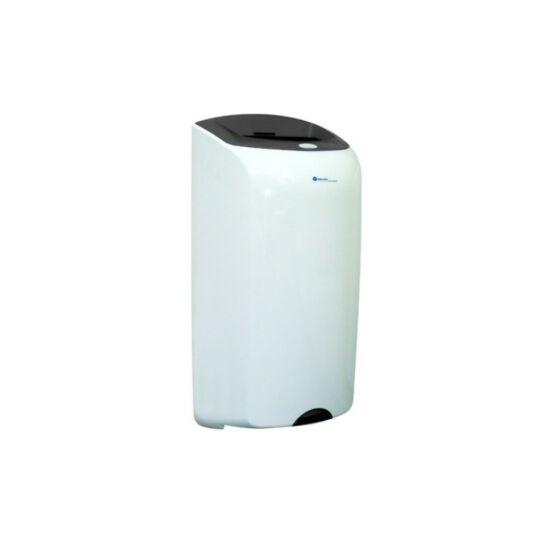 Hulladékgyűjtő, 40-es, falra szerelhető, ABS, műanyag, szürke decor betét