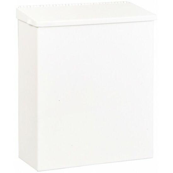 Fali fedeles intim hulladékgyűjtő, acél, fehér, 5 l