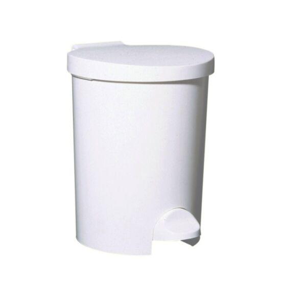 Műanyag pedálos hulladékgyűjtő, 15 l