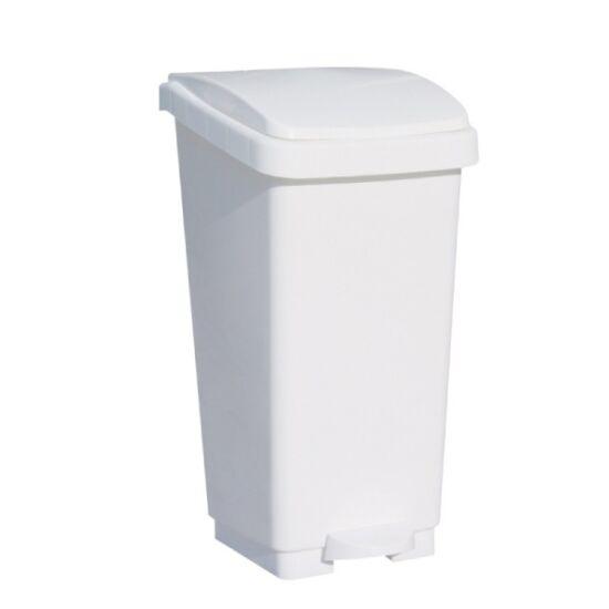 Pedálos műanyag hulladékgyűjtő, 50 l