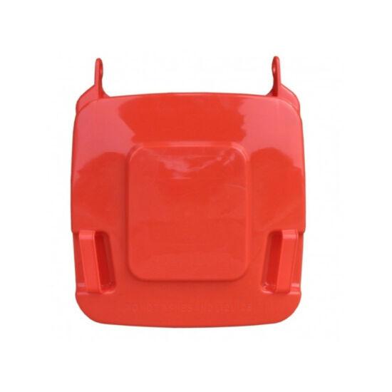 Fedél K120 szelektív hulladékgyűjtőhöz, piros