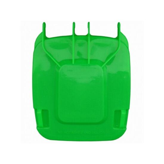 Fedél K240 szelektív hulladékgyűjtőhöz, zöld