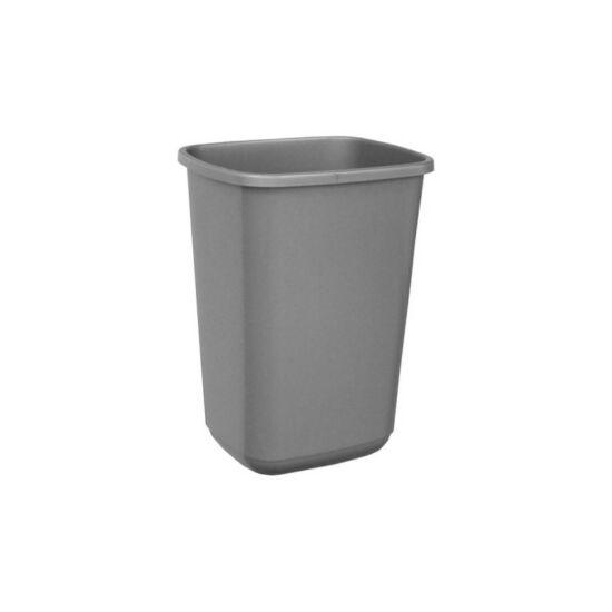 Szelektív hulladékgyűjtő fedél nélkül, szürke, 45 l