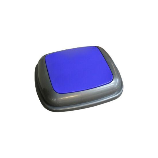 Fedél K45 szelektív hulladékgyűjtőhöz - kék