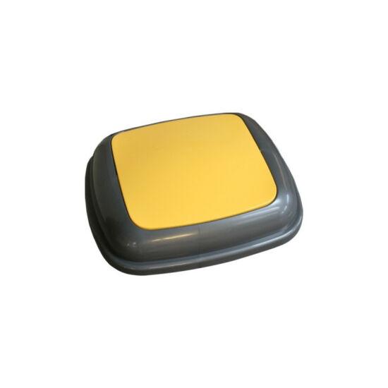 Fedél K45 szelektív hulladékgyűjtőhöz - sárga
