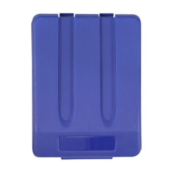 Fedél K33 szelektív hulladékgyűjtőhöz - kék