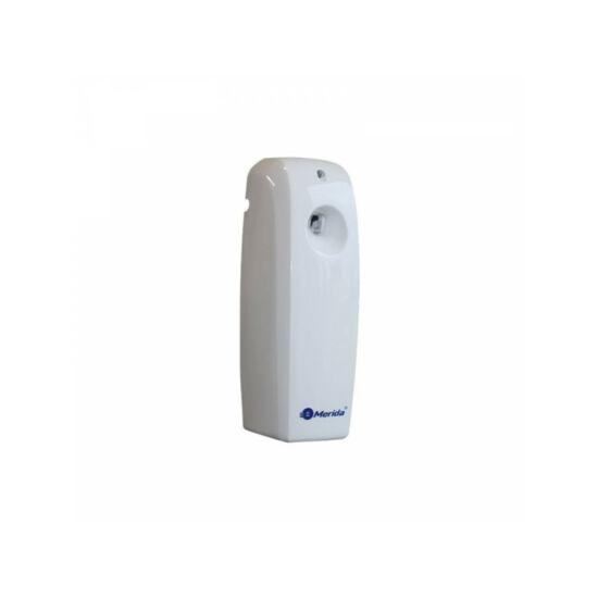 Automata légfrissítő LED kijelzővel, digitális, ABS műanyag, fehér