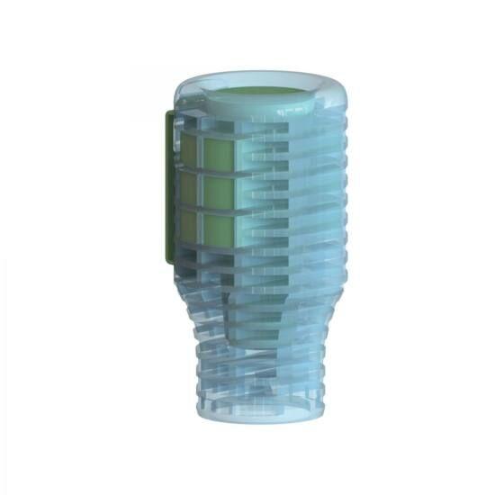 VEVO V-AIR Solid Evolution Linen Breeze - frissen mosott ruha illatú légfrissítő kehely, passzív, elem nélküli működéssel, 60 napos