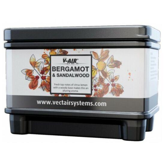 V-AIR Solid Plus Bergamot - bergamott és szantálfa illatú, illatosított légfrissítő patron, adagolóhoz