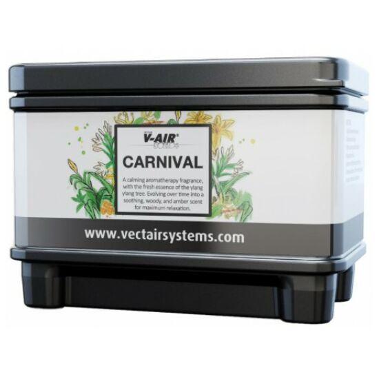 V-AIR Solid Plus Carnival-tubarózsa, narancsvirág és jázmin illatú, illatosított légfrissítő patron