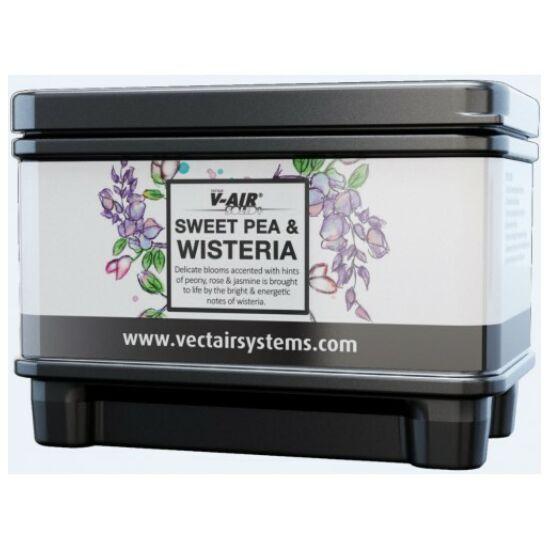 V-AIR Solid Plus Sweet Pea & Wisteria - cukorborsó és lilaakác illatú, illatosított légfrissítő patron, adagolóhoz