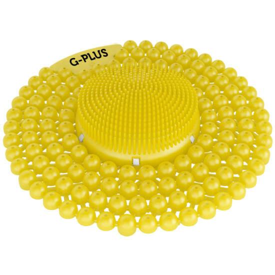 G-PLUS Citrus - citrus-mangó illatú piszoár rács, húgykő- vízkőlazító enzimmel, 60 napos