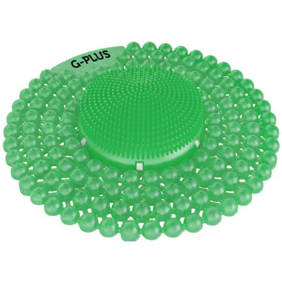 G-PLUS Melon - dinnyés-uborkás illatú piszoár rács, húgykő- vízkőlazító enzimmel, 60 napos