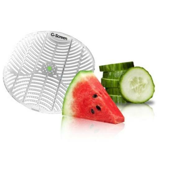 G-Screen Green - Cucumber Melon - uborka-dinnye illatú piszoár rács
