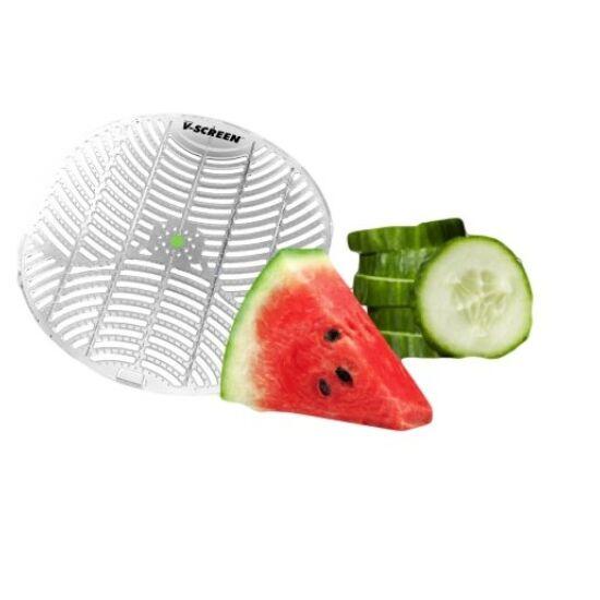 V-Screen Green - Cucumber Melon - uborka-dinnye illatú piszoár rács