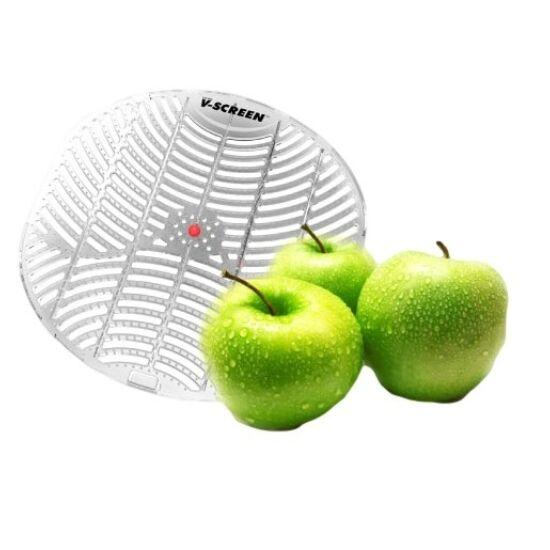 V-Screen Red - Apple Orchard - alma illatú piszoár rács