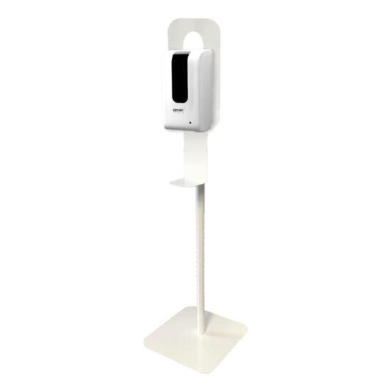 Kézfertőtlenítő állvány automata SIMEX kézfertőtlenítő gél-és folyadék adagolóval