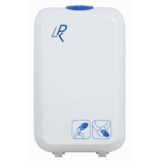 GOJO LPK WC ülőke fertőtlenítő törlőkendő adagoló, fehér, ABS műanyag, 350 db-os